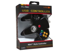 (Hyperkin) Black - USB N64 Controller - CirKa (PC/Mac)