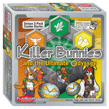Killer Bunnies and the Ultimate Odyssey: Starter Combo Pack - Lively & Spry