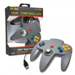 (Hyperkin) Gray - USB N64 Controller - CirKa (PC/Mac)
