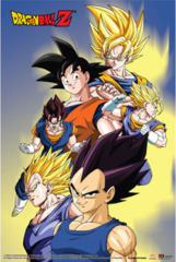 #06 - Dragon Ball Z Goku, Vegeta, Vegito