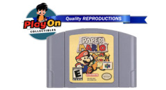 Paper Mario (Nintendo 64 REPRODUCTION)