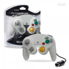 (Hyperkin) Cirka Pearl White Wii/Gamecube Controller - Wired