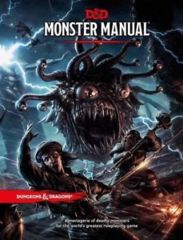 Dungeons & Dragons RPG - Monster Manual (5th Edition)