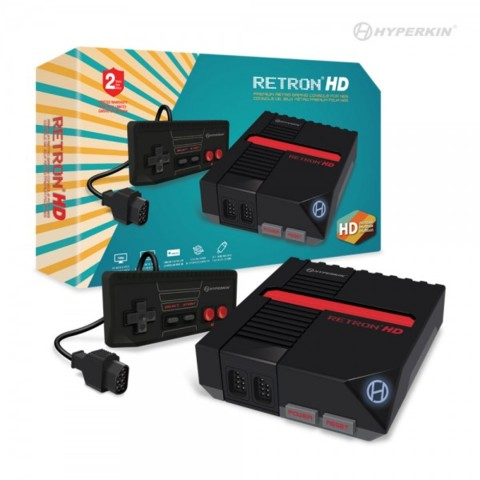 (Hyperkin) RetroN 1 HD Gaming Console for NES (Black)