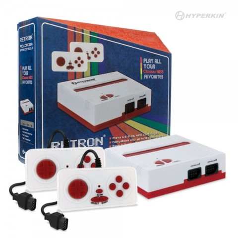 (Hyperkin) RetroN 1 Gaming Console for NES (Red/ White)