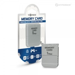 (Hyperkin) 1MB Memory Card for PS1 - Tomee