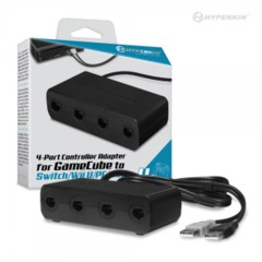 (Hyperkin) Wii U/ PC/ Mac 4-Port GameCube Controller Adapter