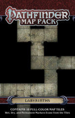Pathfinder RPG (GameMastery Map Pack) - Labyrinths