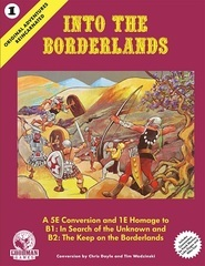 Dungeons & Dragons RPG - Into The Borderlands (5th Edition) - Vol. 1 Orginal Adventures Reincarnated