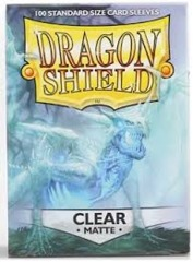 Dragon Shield Box of 100 in Matte Clear