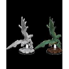 Nolzur's Marvelous Unpainted Miniatures - Young Green Dragon (73684)