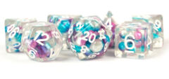 7ct Poly Pearl Purple/Teal/White - MD693