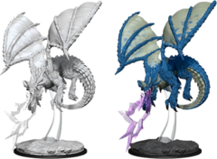 Nolzur's Marvelous Miniatures - Young Blue Dragon (73683)