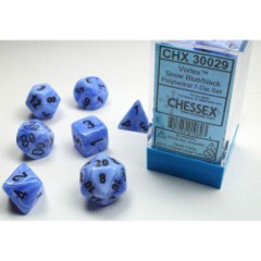 Lab Dice 7ct Vortex Snow Blue/Pink - CHX30029