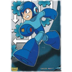 Dragon Shield Sleeves: Art Megaman