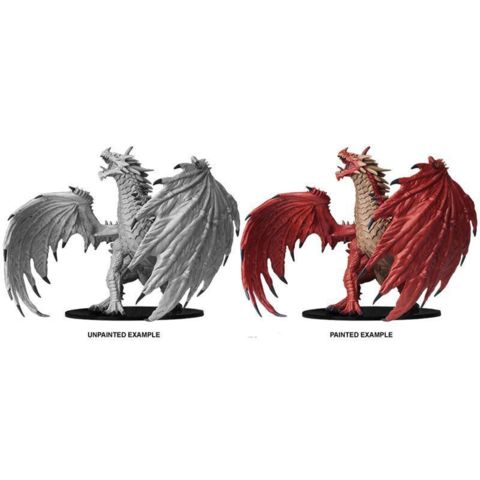 Gargantuan Red Dragon - Wizkids Unpainted Miniatures (73144)