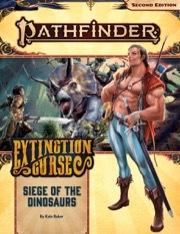Pathfinder 2e: Siege Of Dinosaurs