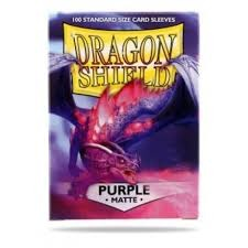Dragon Shield Box of 100 in Matte Purple