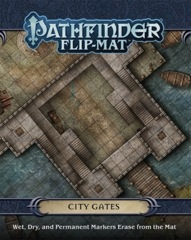 Pathfinder Flip Mat: City Gates