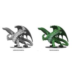 Gargantuan Green Dragon - Wizkids Unpainted Miniatures (73531)
