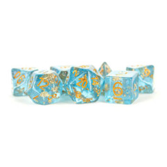 7ct Resin Blue/Gold Foil 16mm - MD618