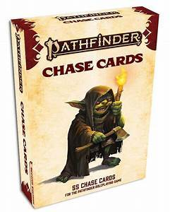 Pathfinder 2e Chase Card Deck