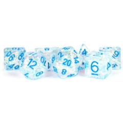 7ct. Flash Dice: Clear/LtBlue MD680