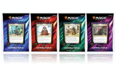 Commander 2019 Set of 4 Decks