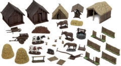 WizKids 4D settings: Medieval Farmer