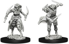 Nolzur's Marvelous Unpainted Miniatures - Tiefling Female Rogue (73339)