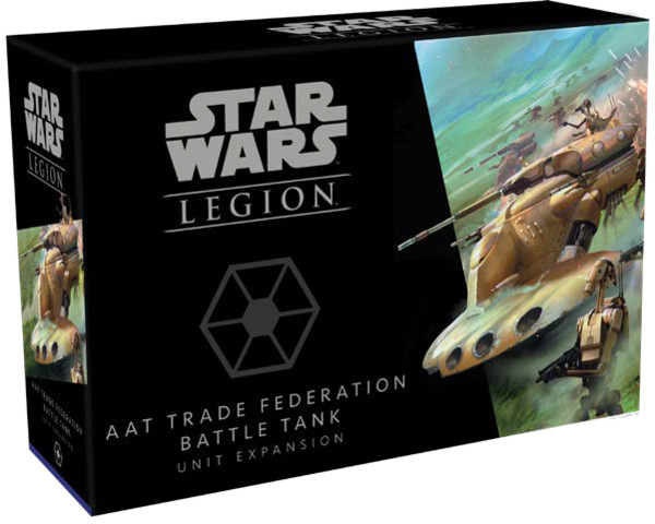 AAT Trade Federation Battle Tank Unit Expansion