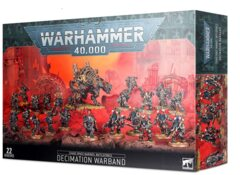 Chaos Space Marines Battleforce Decimation Warband