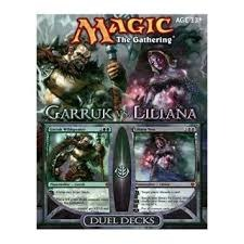 Garruk vs. Liliana - Complete Unsealed