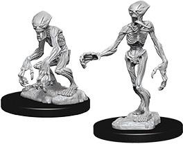 Pathfinder Deep Cuts Unpainted Miniatures: W7 Doppelgangers