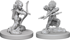 Pathfinder Deep Cuts Unpainted Miniatures: W6 Gnome Female Rogue