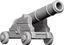 WizKids Deep Cuts Unpainted Miniatures: W9 Cannons