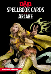 Dungeons & Dragons RPG: Arcane Spell Deck