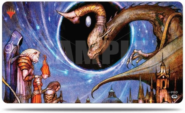Magic the Gathering: War of the Spark Play Mat V5 - Deliver unto Evil