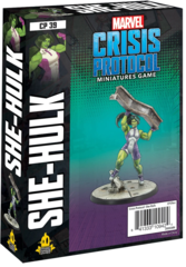 Marvel: Crisis Protocol - She Hulk Character Pack