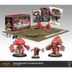 WARMACHINE: KHADOR BATTLEGROUP STARTER (MK III)