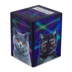 DEFENDER DECK BOX, ARTWORK SERIES, CATS!