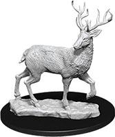 WizKids Deep Cuts Unpainted Miniatures: W7 Stag