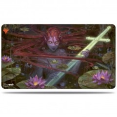 Magic the Gathering: Throne of Eldraine Emry, Lurker of the Loch Play Mat - V2