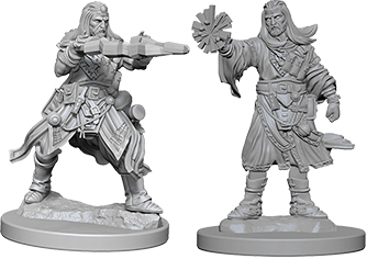 Pathfinder Deep Cuts Unpainted Miniatures: W6 Male Human Wizard