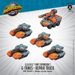 G.U.A.R.D. Unit - G-Tanks/ Repair Truck