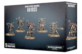 Chaos Space Marine Havocs