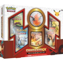 Charizard-EX Red Blue Collection