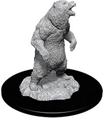 WizKids Deep Cuts Unpainted Miniatures: W7 Grizzly