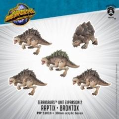 Terrasaurs Unit - Raptix/Brontox