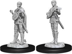 Nolzur's Marvelous Unpainted Miniatures - Female Half-Elf Bard